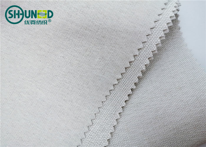 Polyester Tie Interlining Fabric 260gsm Collar Necktie Lining For Men Tie Fabric