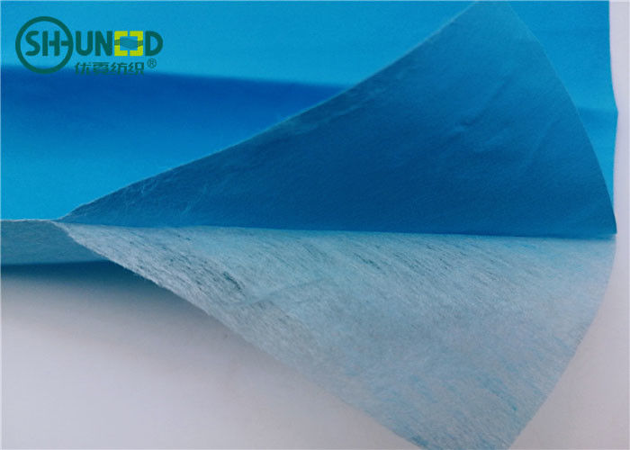 Chemical Bond Non Woven Fabric Rolls with Pet Film Laminating for Hospital Disposable Medical Bed Sheets